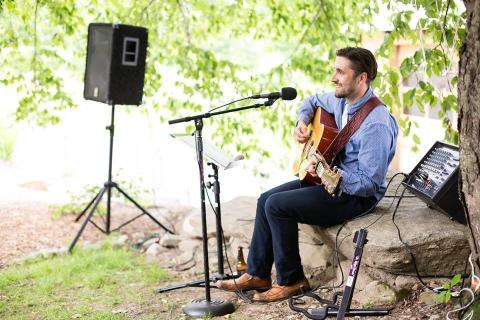 Justin Calcasola, Musician for Montague Retreat Center