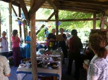 45th anniversary of Montague Farm, held at sister commune Wendell Farm.