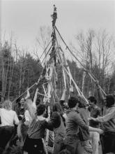 May Day 1969 at Montague Farm Commune.