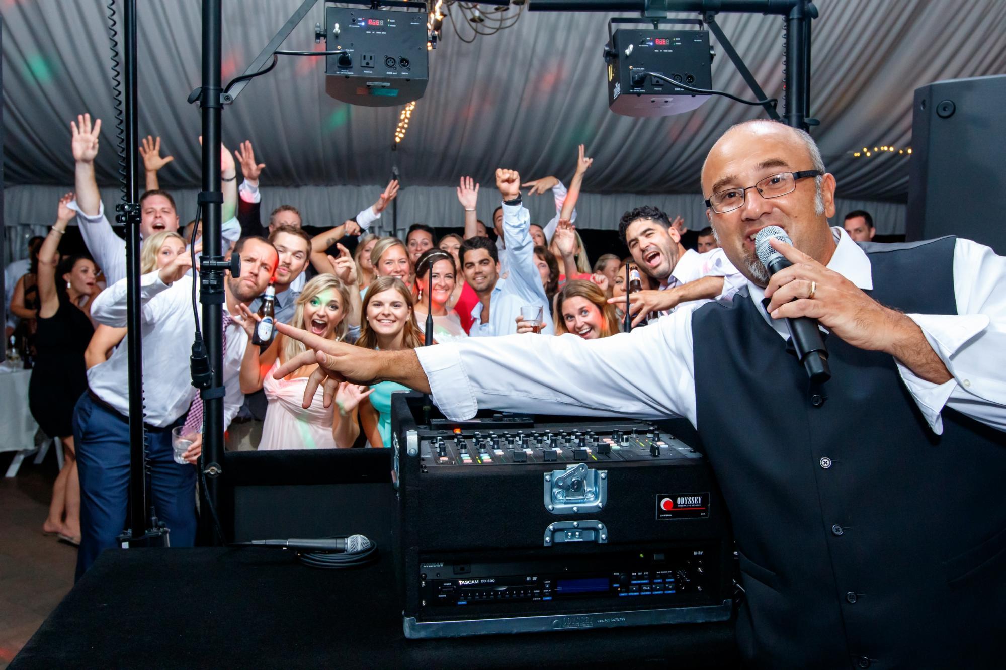 Bob Raina, DJ for Montague Retreat Center