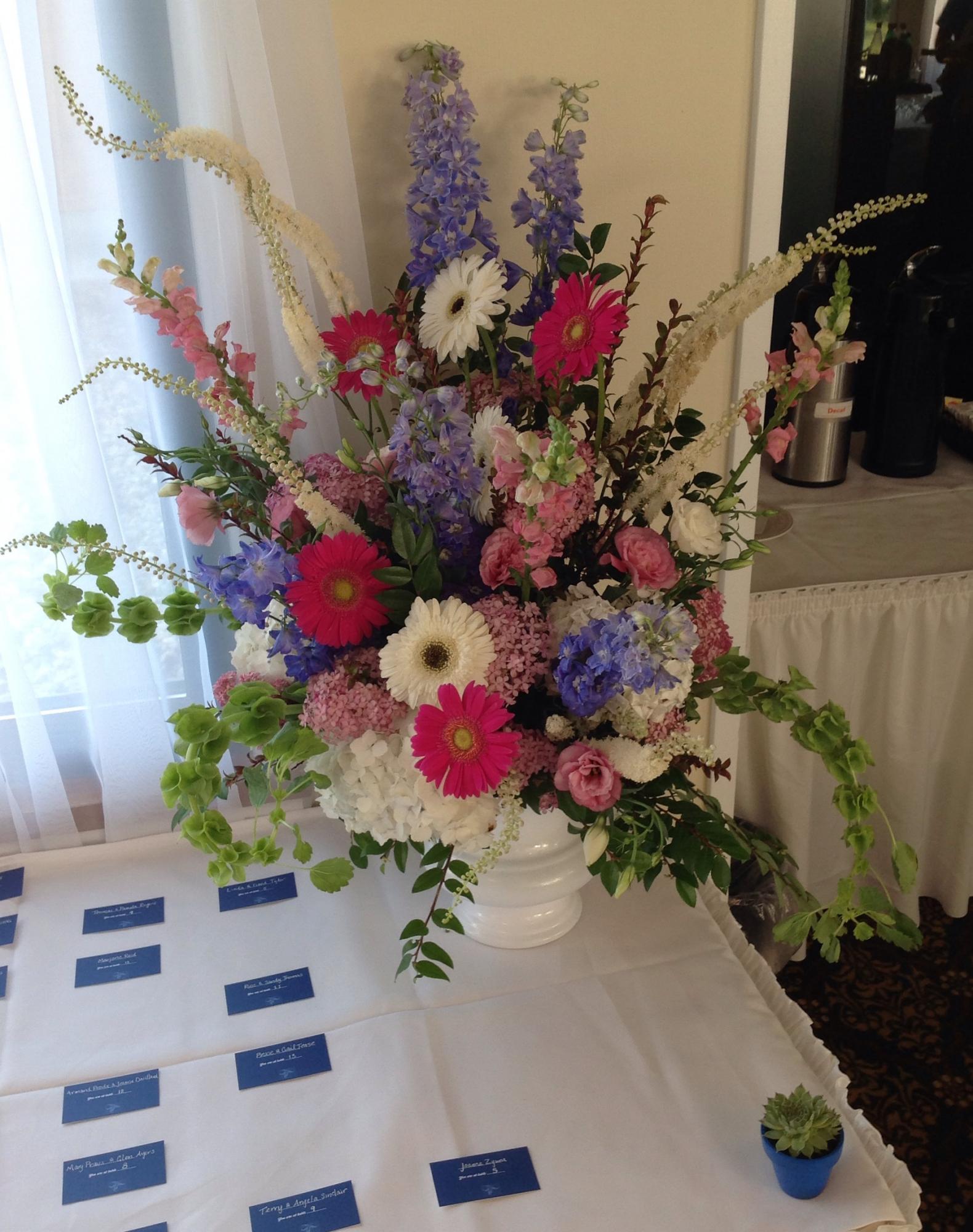 Fairview Gardens, Florist for Montague Retreat Center